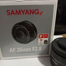 Objetivo Samyang 35mm AF 2.8. Sony-E