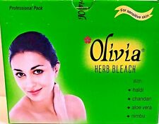 Olivia Herb Bleach 270g (9.5oz.) Natural Herbal Cream Sensitive Skin -Us Seller