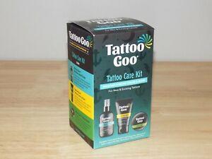 Tattoo Goo Aftercare Kit 3pcs Cleansing Soap Salve Tins Healix Lotion