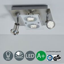 Lámpara de Techo Led Luz Reflector Spot Iluminación 4 Lámparas Salón Cocina