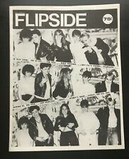 FLIPSIDE FANZINE ISSUE #13 MAGAZINE THE GO GO's DILS ALLEY CATS SANDY PEARLMAN