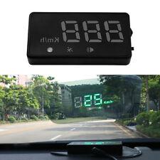 Car Universal GPS Speedometer HUD Head Up MPH/KM/h Plug&Play Overspeed Warning