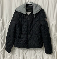 Madden NYC Juniors Black Puffer Coat Size XL Good Condition