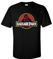 SWEET HARAMBE PARK Support Harambe Shirt Black S M L XL 2XL 3XL