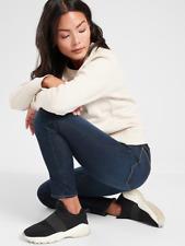 Athleta Sculptek Ultra SKINNY Midnight Jean 6 Tall 6t Dark Wash Stretch Jeans