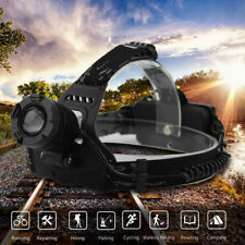 Zoomable 9000LM XM-L T6 LED Headlamp Camping Hiking 3 Mode Head Light Torch Lamp