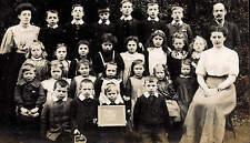 Hixon near Stafford. Hixon School Group 3 1908.