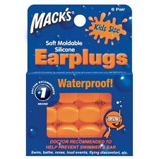 Macks MACK'S #10 Swimming learn to swim putty EarPlug ear plug silicon KIDS NEW