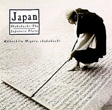 NEW Japan: Shakuhachi - The Japanese Flute, Various Artists (CD 1991, Nonesuch)