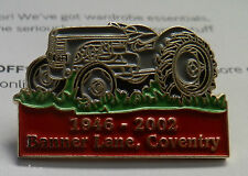 MASSEY FERGUSON BANNER LANE FACTORY CLOSURE COVENTRY RARE TRACTOR PIN BADGE