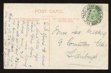 SCOTLAND PENICUIK 1906 POSTMARK...Bonnyrigg..Cockpen