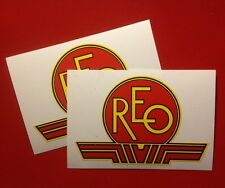 REO antique engine decal 40's & 50's  Mowers This Is 2 For 1 Price; 12