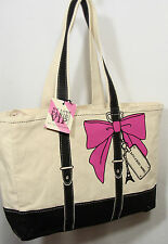 Bath & Body Works PARIS Women's Ivory Beach Tote Over The Shoulder Bag