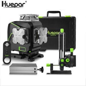 Huepar 16 Lines 4D Osram 520nm Laser Level green beam Horizontal Vertical