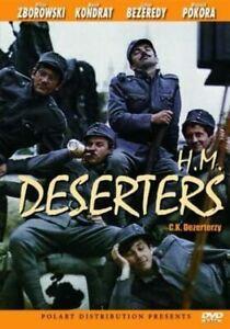 H.M. Deserters DVD C.K. dezerterzy POLISH MOVIE English Subtitles - VERY RARE