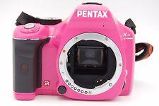 Pentax K-X 12.4 Megapixel Digital SLR and 18-55mm f/3.5-5.6 DAL AL Lens (Pink)