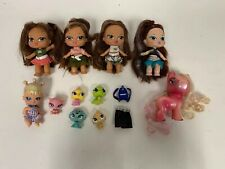 """Bratz Baby Doll Lot of 6 5"""" , Horse, Clothing & Accessories Lot"""