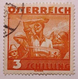 Austria 1934 Costumes 3s Orange FU. €30