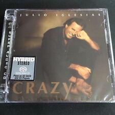 Julio Iglesias Crazy Hybrid SACD CD NEW Limited No. Edition