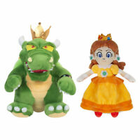 Super Mario Bros.- King Koopa Princess Daisy Plush Doll Stuffed Toys New Year