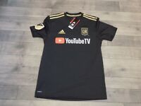 ADIDAS Men's 2019 LAFC HOME JERSEY (DY0313) Size Small