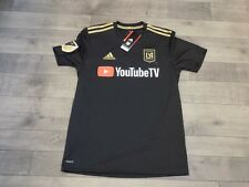 adidas Lafc 2018 Home Soccer Jersey Men's XL Black 7417a Climalite MLS