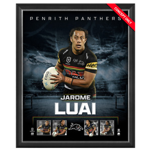 Jarome Luai Penrith Panthers Official Licensed NRL Print Framed New