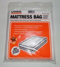 (1) UHAUL Twin size mattress bag NEW sealed moving storage protection cover