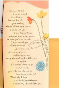 Happy Birthday Love You Deserve So Much Happiness Hallmark Greeting Card