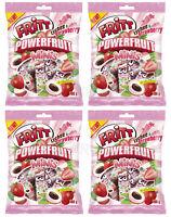 4 x FRITT POWERFRUIT Minis Lychee & Strawberry Flavor Chewy Candy 100g 3.5oz