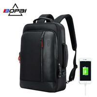 New BOPAI 15.6 Inch Travel Anti Theft Computer Backpack USB School Laptop Bag