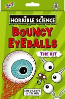Galt Toys Horrible Science Bouncy Eyeballs   - FAST & FREE DELIVERY