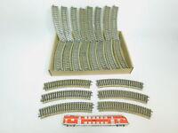 BL810-3# 45x Märklin H0/AC 5100 Gleisstück/Schiene gebogen M-Gleis