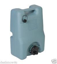 Portable 6 Gallon RV Waste Gray Black Sewer Waste Water Tank Camper Tote Transpo