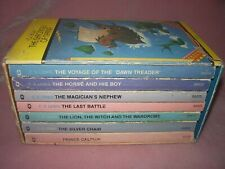 The Chronicles of Narnia: The Complete Box Set 1-7 by C.S. Lewis 1976