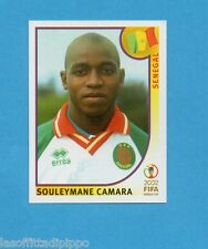 KOREA/JAPAN 2002-PANINI-Figurina n.60- S.CAMARA - SENEGAL -NEW BLUE BACK