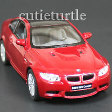 Kinsmart Bmw M3 E92 2 Doors Coupe 1:36 Diecast Toy Car Red