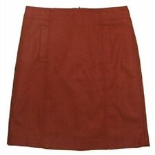 Above Knee Woolen A-Line Solid Skirts for Women