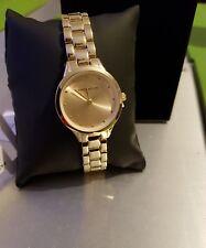 Karen Millen SKM002RGM Women Quartz Gold Dial Wrist Watch RRP £125