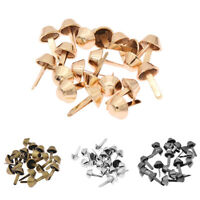 Lots 20pcs 12mm Metal Bag Rivets Studs For Purse Handbag Leather DIY Craft
