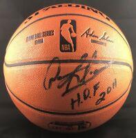 Dennis Rodman autographed signed inscribed basketball Chicago Bulls PSA HOF