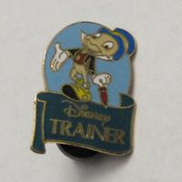 Disney WDW Disney Trainer Jiminy Cricket Two Post Version Pin