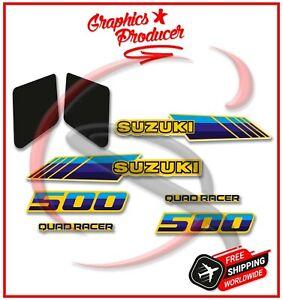 SUZUKI LT500 QUADRACER QUADZILLA Graphics Kit Sticker 87-90 Model Premium Vinyl