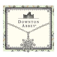 Downton Abbey Silver-Tone Crystal Large Starburst Pendant Necklace 17594