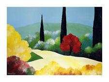 Bernard Payet Jardin d Automne Poster Kunstdruck Bild 60x80cm - Portofrei