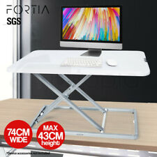 【EXTRA10%OFF】FORTIA Desk Riser Office Shelf Standup Sit Stand Height