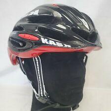 Kask Vertigo Race Cycling Bicycle Helmet Gloss Black/Red Large 59-62 cm