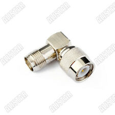 TNC Male Plug to Jack Female Right Angle Coaxial Adapter for wifi