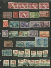 US POSTAGE STAMPS LOT VINTAGE MID 20TH CENTURY STAMPS LOT OF 68 COLLECTION
