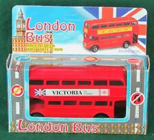 NEW, DIECAST METAL FREE WHEEL ACTION LONDON BUS (DOUBLE DECKER) by FULRIGHT